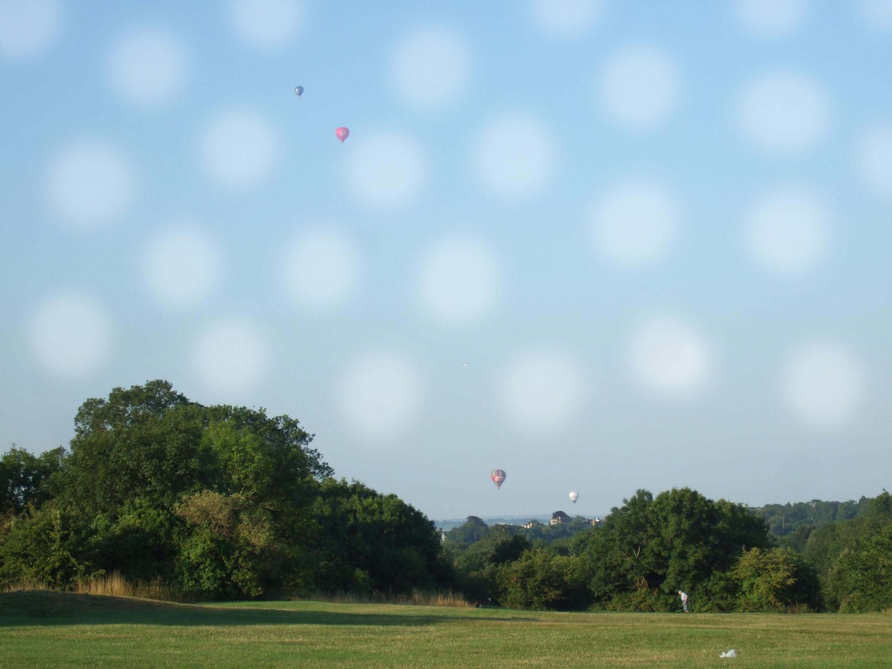 balloon polka dot